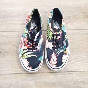 Vans • Hawaiian Floral Skate Shoes 7